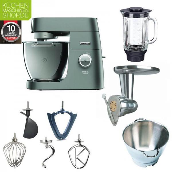 Kenwood Chef XL Titanium KVL 8320S Küchenmaschine mit Italia-Paket